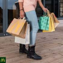 Shopping and McDonald's